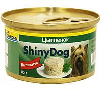 Консервы Gimpet Shiny Dog Chicken для собак с курицей, 85 г