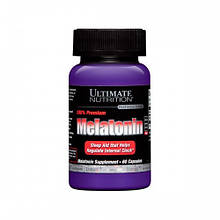 Melatonin 3 mg Ultimate Nutrition 60 caps