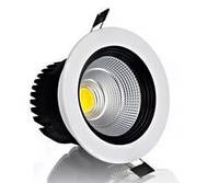 LED светильник встраиваемый LEDMAX SC18CWR COB 18W 6500K 1500Лм круг