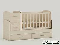 Трансформируемая детская кровать Oris-mebel Maya (цвета в ассортименте)