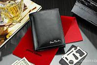 Качественный мужской кошелек бренд PIERRE CARDIN