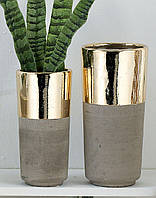 Вазоны для цветов 14,5x30 см