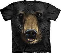 3-D футболка BLACK BEAR FACE