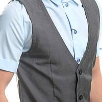 Модная мужская рубашка-жилетка