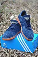 Кроссовки Adidas Spezial мужские синие (Original Quality)