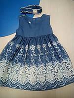 Нарядное платье с кружевом, фото 1