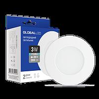 Встраиваемый светильник GLOBAL LED 3W 4100K