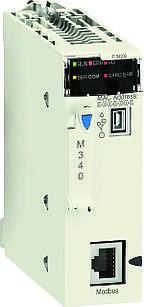 BMXP341000  Процессор 340-10, Modbus
