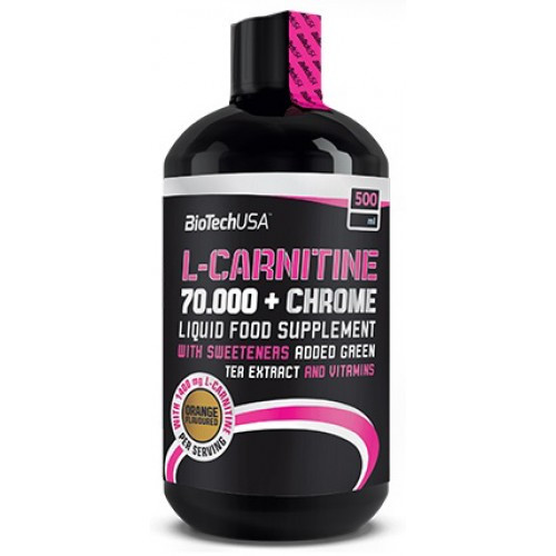 BioTech L-CARNITINE+СHROME 70 000 500 мл