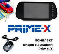 """Комплект видеопарковки автомобиля """"Prime-X"""" M-082 plus, (7"""") /система видеопарковки/парковочная система/"""