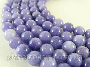 8 мм Ангелит, CN105, Натуральный камень, бусины, Форма: Шар, Отверстие: 1 мм, кол-во: 47-48 шт/нить, фото 2