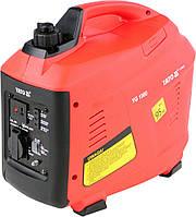 Генератор электрического тока инверт-й, бензин, 900Вт, 230В, 3,9А, расход 0,74 л/ч YATO YT-85421.