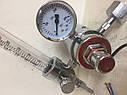 Регулятор давления (редуктор) Magnum Ar/CO2 + ротаметр + подогрев (Польша), фото 6