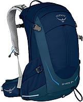 Мужской рюкзак 24 л. для занятия треккингом Osprey Stratos 24 O/S синий