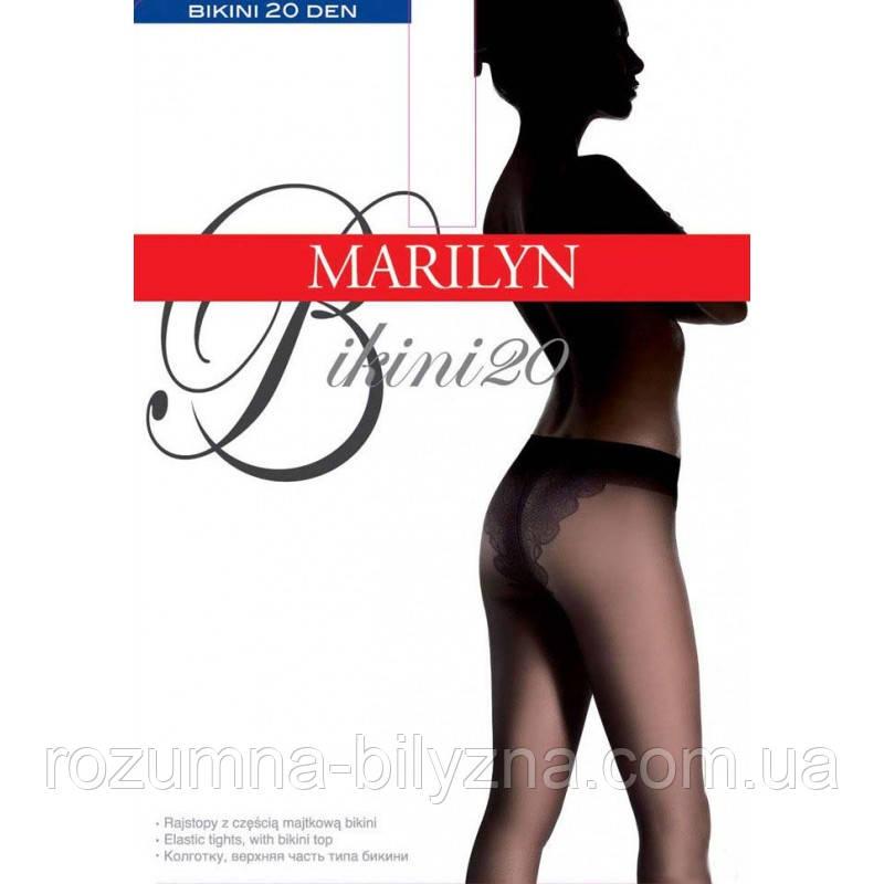 Marilyn Bikini 20 den Колготки прозрачные матовые натуральный (Visone)