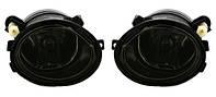 Черные тёмные Противотуманки BMW E46 M3 E39 M5 бмв е39 е46 тюнинг tuning M Hamann Schnitzer Alpina туманки