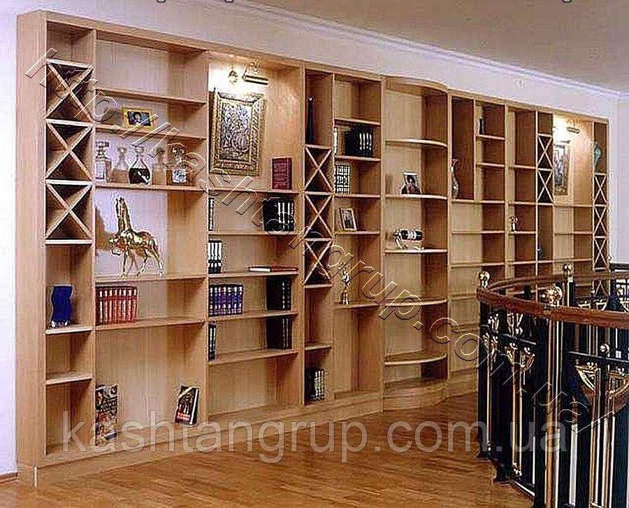 Стеллаж для книг и декора 15