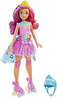 Кукла Барби Barbie на роликах принцесса Белла Виртуальный мир Barbie Video Game