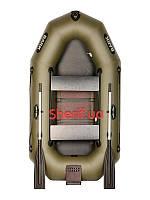 Двухместная гребно-моторная лодка со сдвижными сидениями Bark B-230ND
