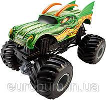 Hot Wheels Monster Jam 1:24 Scale Dragon Vehicle Металлический внедорожник (США)