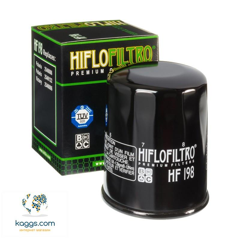 Масляный фильтр Hiflo HF198 для Polaris,Victory