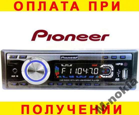 БЕЗ ПЕРЕДОПЛАТИ! Автомагнітола PIONEER 3018U 4Х50Вт