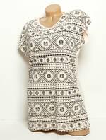 Женская футболка Pattern  291x7 Турция XL/XXL
