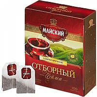 Чай Майский черный (100 пак)