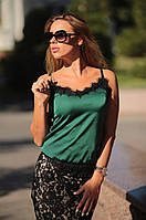Женская юбка двухсторонняя из гипюра