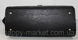 Сумка-Партфель женская деловая Wallaby  Искуственная кожа Черная 17-778-5, фото 2
