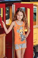 BERRAK Майка+шорты для девочки 6553