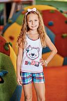 BERRAK Майка+шорты для девочки 6538