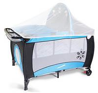 Манеж-кровать Premium Blue