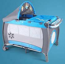 Манеж-кровать Premium Blue, фото 3