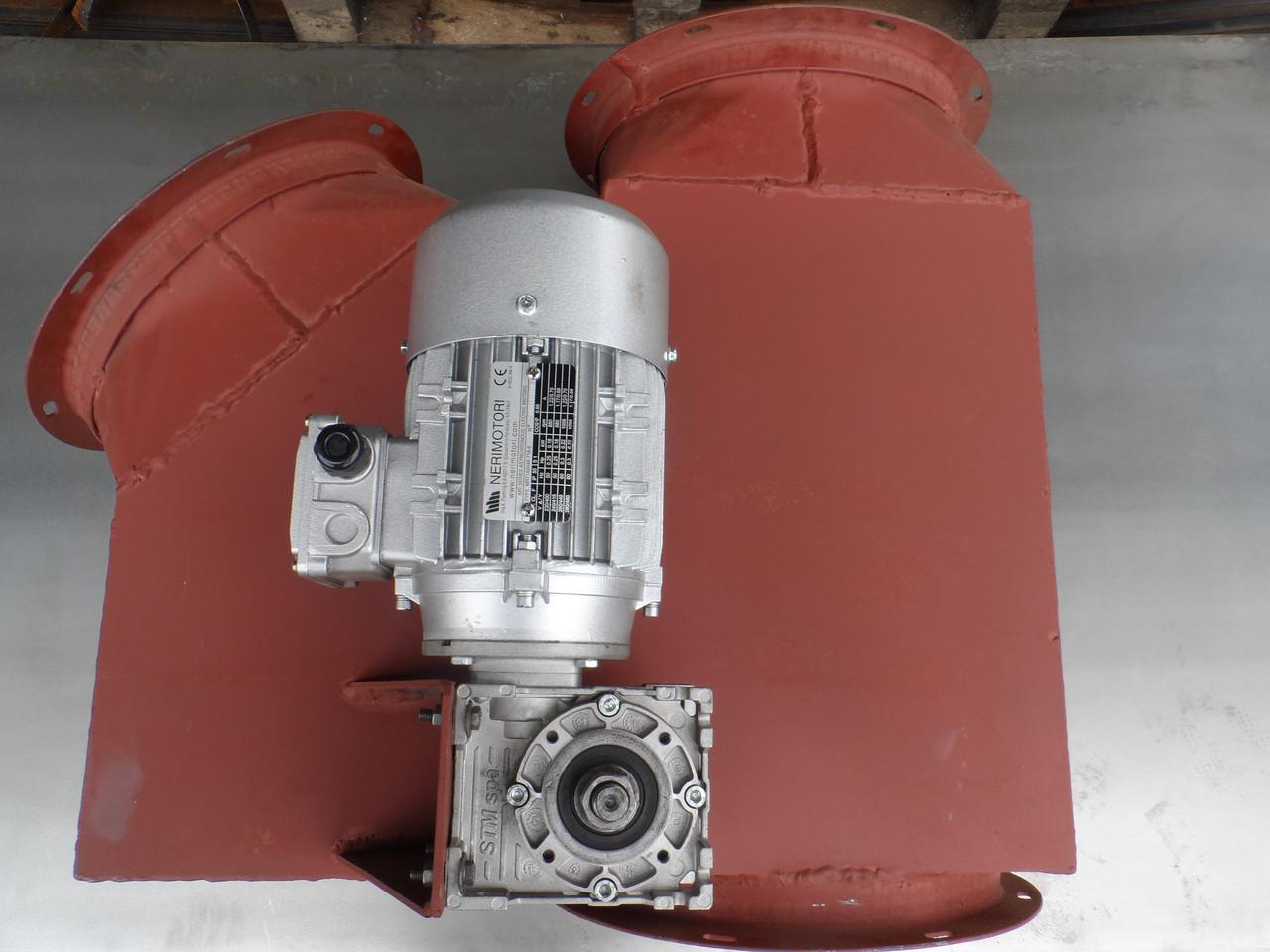 """Клапан """"У"""" Ø-300/300/300 с електро-приводом"""
