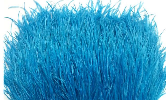 Тесьма из перьев страуса