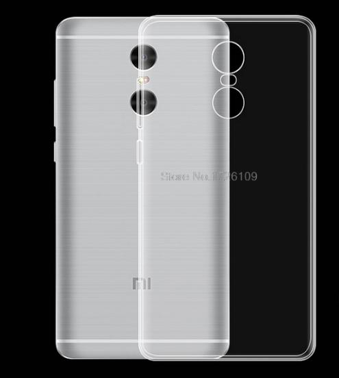 Силиконовый чехол бампер для Xiaomi Redmi Note 4X