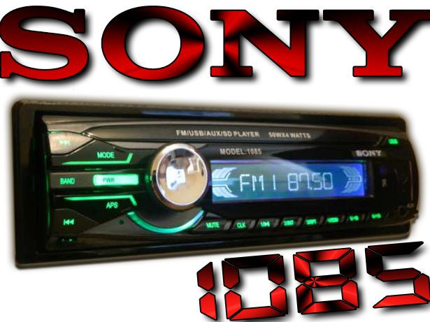 Автомагнітола Sony 1085B ISO з пультом