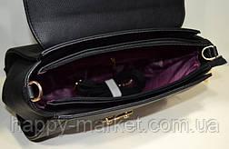 Сумка-Партфель женская деловая Wallaby  Искуственная кожа Черная 17-778-5, фото 3