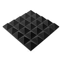 Акустическая панель Ecosound пирамида Pyramid Gain Black 45х45см, 50 мм.