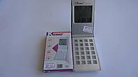 Карманный калькулятор  Kenko 2511В с календарем ,часами и будильником маленький.Калькулятор в виде мобильного