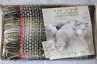 Жаккардовый шерстяной плед Vladi Капри 02 (140х200)