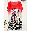 Женская футболка 7154, фото 3