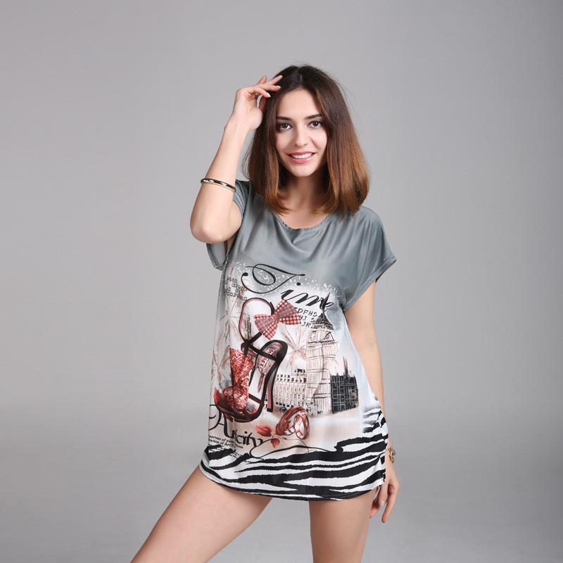 Женская футболка 7154