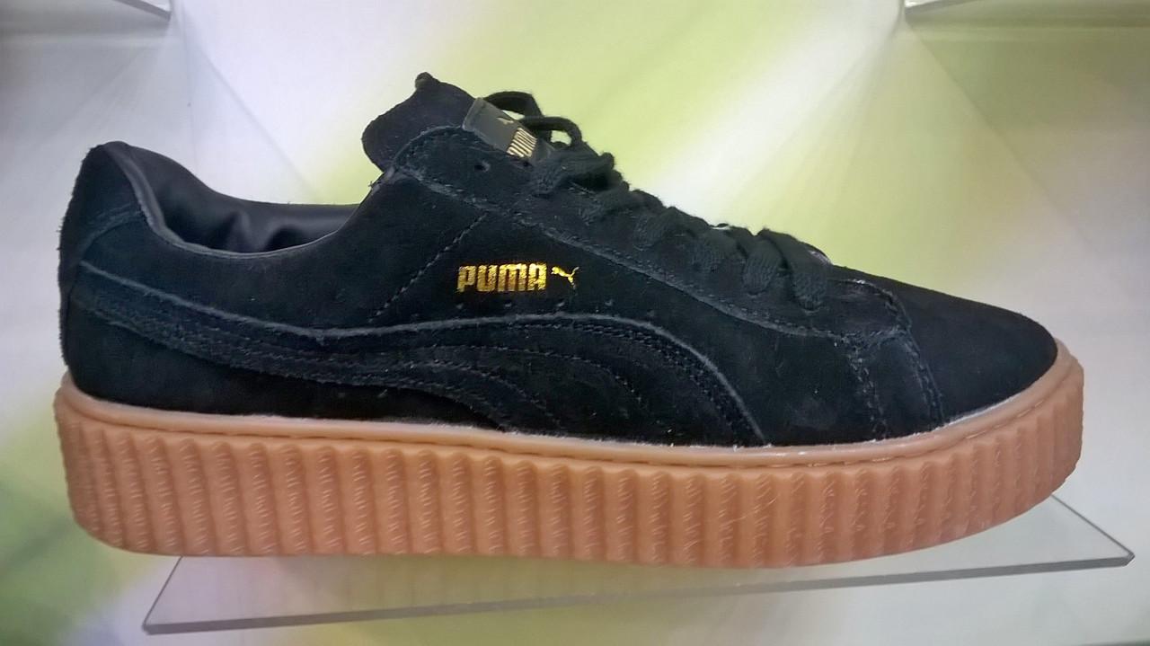 Мужские кроссовки Puma Rihanna черные  продажа, цена в Киеве ... 2faa6ff247b