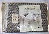 Жаккардовый шерстяной плед Vladi Жасмин 01 (140х200)