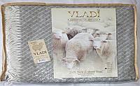 Жаккардовый шерстяной плед Vladi Жасмин 03 (140х200)