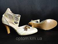 Женские туфли с брошкой купить оптом