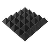 Акустическая панель Ecosound пирамида Pyramid Gain Black  45х45см, 70 мм.