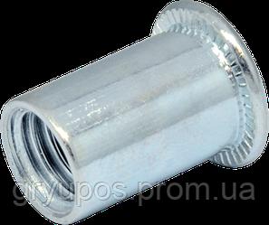 RF-Гайка М6/0,5-3 клеп пл D9